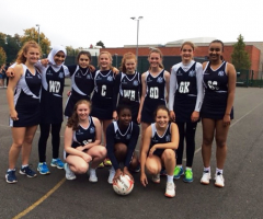 Netballers play at Condover