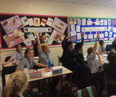 Year 7 take the Readathon challenge