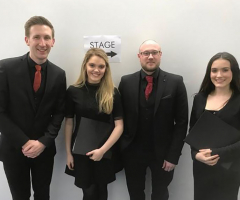 EHS singers join Russell Watson in concert