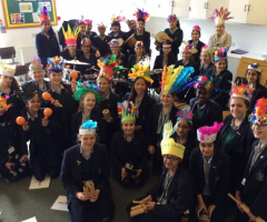 Year 8 host their very own Samba Carnival!