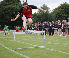 Friendly competition at Senior School Sports Day