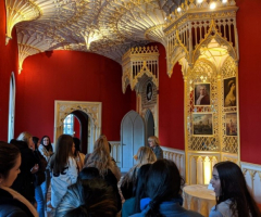 Gothic inspiration at Strawberry Hill House
