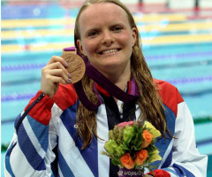 Former pupil goes for gold