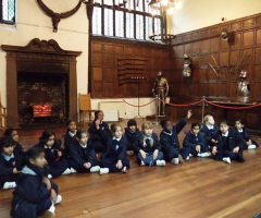 Year 1 conquer Tamworth Castle!
