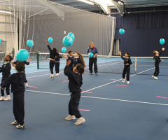 Tennis enrichment for Year 2