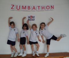 Zumbathon for Sport Relief 2016