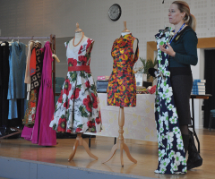 Textiles Students Step Back in Time