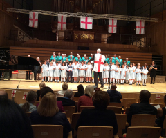 Choirs come together at Birmingham University