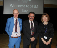 EHS Welcomes Lord Winston to GSA STEM Day