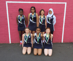 Prep Netball Team Are Tournament Winners!