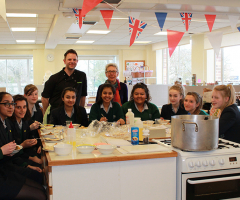 Year 9 Cooking Masterclass with Mr Wootton
