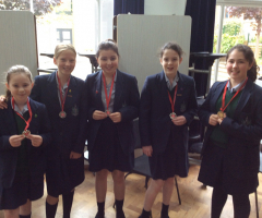 Year 7 achieve Silver in the Schools' Splash Competition