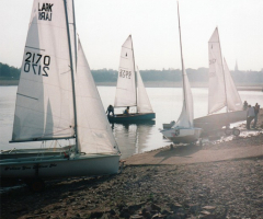Sailing this weekend at Edgbaston Reservoir