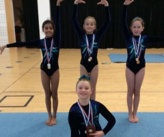 Gold for Prep gymnasts