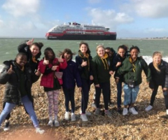 Portsmouth fun for Year 6 netballers