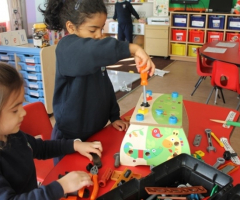 Beyond the curriculum in Reception
