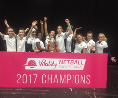 Netballers learn from the champions