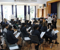 Girls hit the high notes at choral workshop