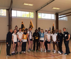 Wasps International player delivers netball masterclass