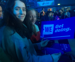 Charity Reps attend WE Day event