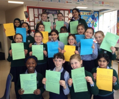 Year 6 share message of hope